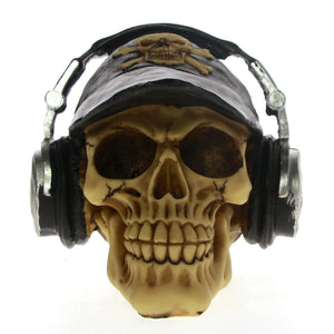 Rocker Skull & Headset Decoration