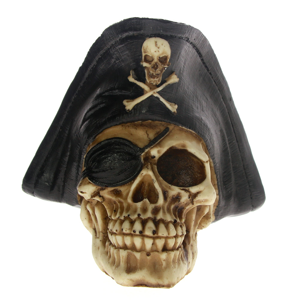 Pirate Captain Skull Decoration