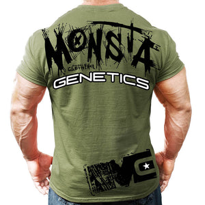 MONSTA GENETICS Fitness T-Shirt