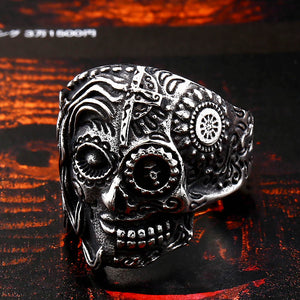 Skull Ring Stainless Steel