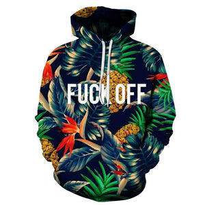 F***ck Off Colorful Hoodie