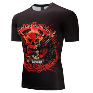 Skull Fitness Men's T-Shirt Collection