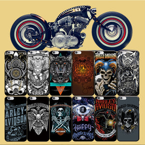 Skull Harley Phone Case For iPhone Back Cover Soft TPU