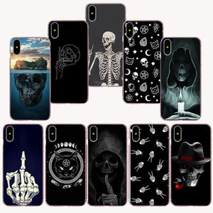 Skull Fashion Soft TPU Silicone Case for iPhone