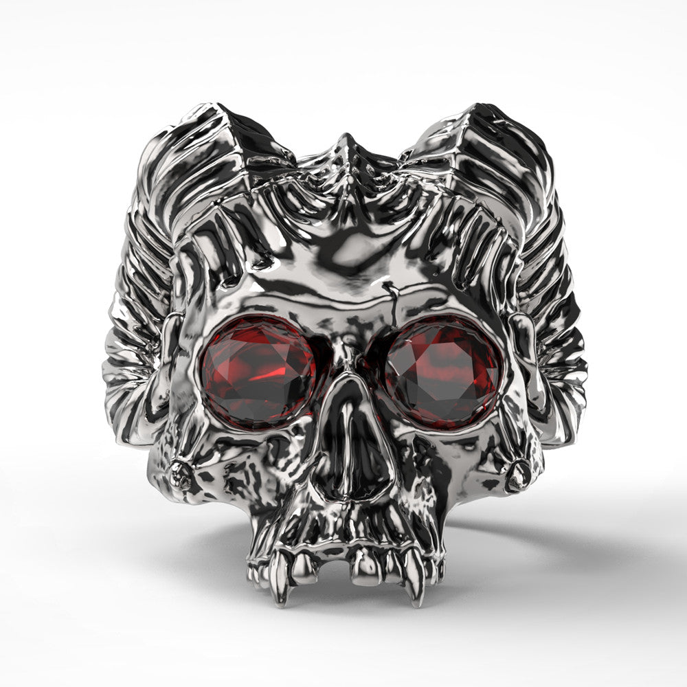 Death Skull Ring Stainless Steel