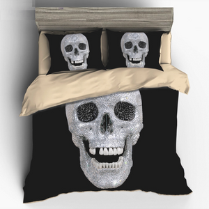 Diamond Skull Bedding Sets