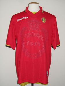 Rode Duivels 1996-97 home shirt