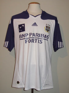 RSC Anderlecht 2010-11 Home shirt