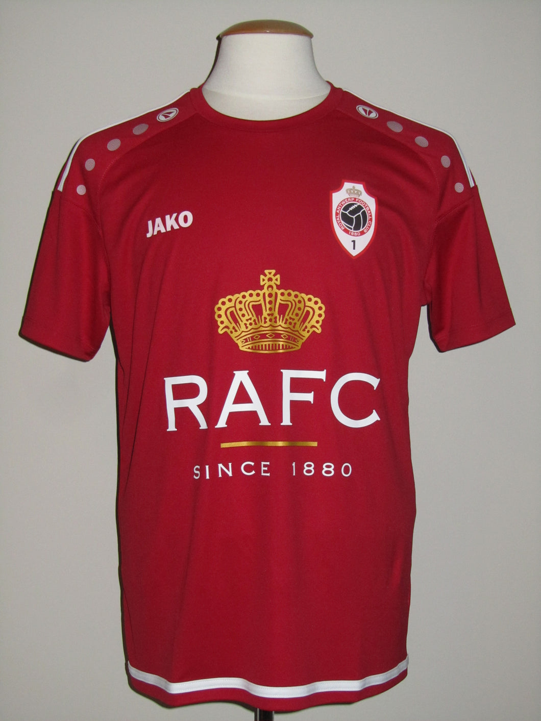Royal Antwerp FC 2019-20 Préseason Home shirt MATCH ISSUE #48