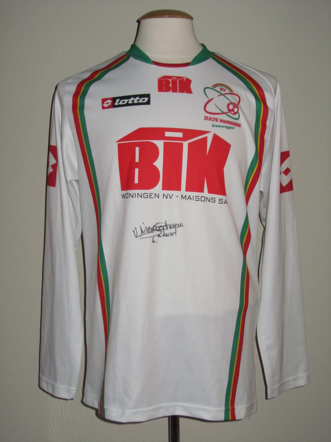 SV Zulte Waregem 2007-08 Away shirt
