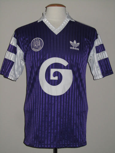 RSC Anderlecht 1989-90 Home shirt
