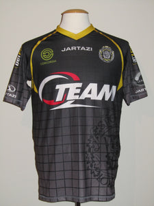 KSC Lokeren 2013-14 Away shirt MATCH WORN #19 JR. Dutra