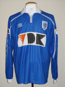 KAA Gent 1999-00 Home shirt match issued #13