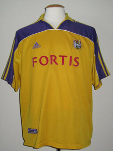 RSC Anderlecht 2000-01 Away shirt #7 Bart Goor
