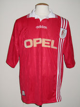 Load image into Gallery viewer, Standard Luik 1996-97 Home shirt MATCH WORN Intertoto vs Karlsrüher SC #8 Roberto Bisconti