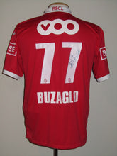 Load image into Gallery viewer, Standard Luik 2012-13 Home shirt MATCH PREPARED vs Beerschot AC #77 Maor Buzaglo