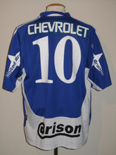 Load image into Gallery viewer, RAAL La Louvière 2004-05 Away shirt MATCH WORN #10 Wagneau Eloi