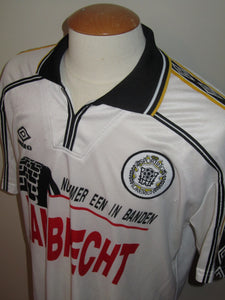 KSC Lokeren 1999-00 Home shirt MATCH ISSUE/WORN #9