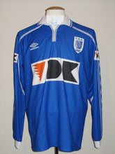 Load image into Gallery viewer, KAA Gent 1999-00 Home shirt match issued #4