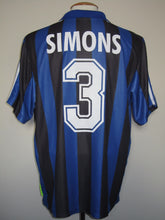 Load image into Gallery viewer, Club Brugge 2000-01 Home shirt MATCH WORN Uefa Cup #3 Timmy Simons