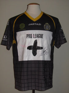 KSC Lokeren 2013-14 Away shirt MATCH PREPARED vs KV Oostende #10 Ivan Leko