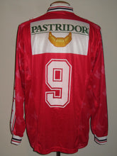 Load image into Gallery viewer, Royal Excel Mouscron 1998-99 Home shirt MATCH WORN #9 Axel Lawaree