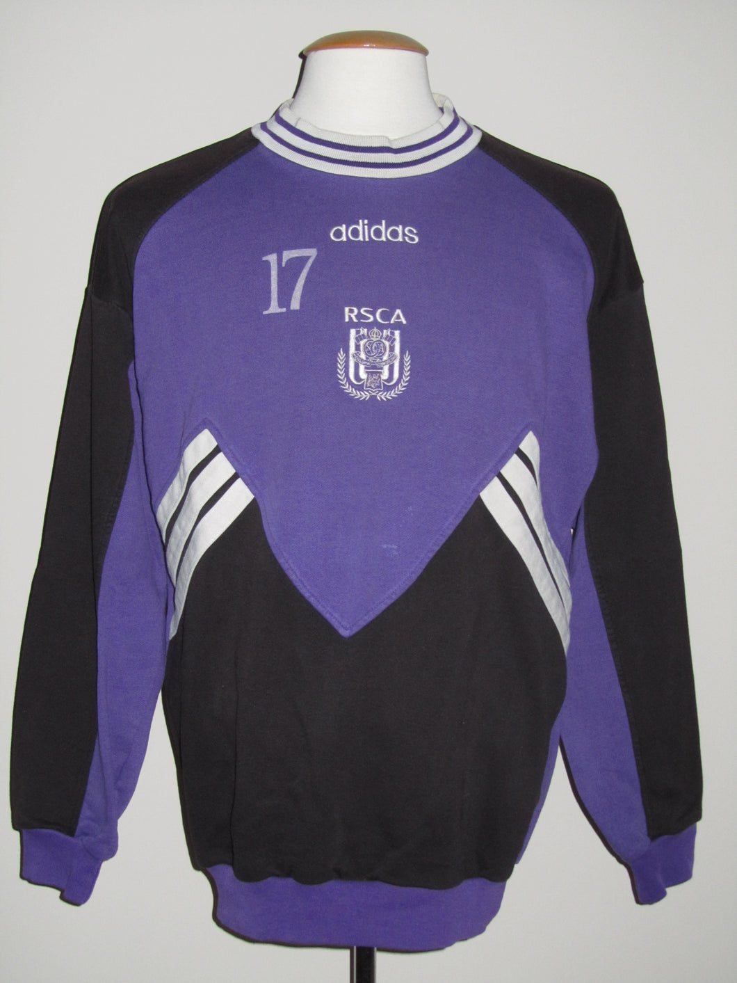 RSC Anderlecht 1996-97 Sweat Top player issue #17