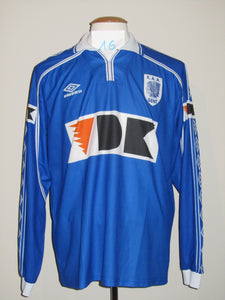 KAA Gent 1999-00 Home shirt match issued #16