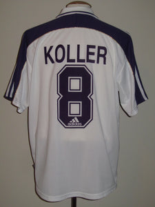 RSC Anderlecht 2000-01 Home shirt #8 Jan Koller