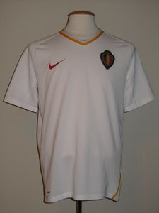 Rode Duivels 2009 Qualifiers Away shirt