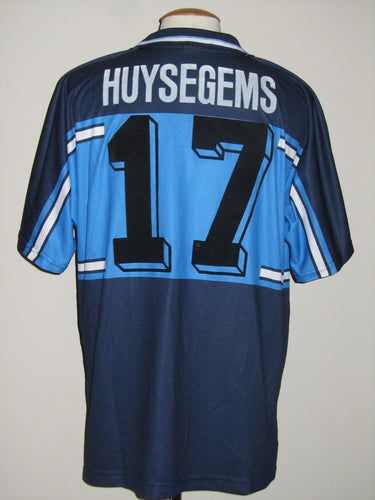 Lierse SK 2000-01 Away shirt MATCH WORN/ISSUE Uefa Cup #17 Stein Huysegems