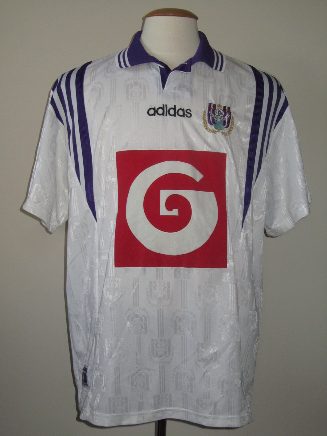 RSC Anderlecht 1996-97 Away shirt XL