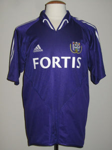 RSC Anderlecht 2004-05 Away shirt #17 Christian Wilhelmsson