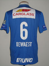 Load image into Gallery viewer, KRC Genk 2015-16 Home shirt MATCH WORN #6 Sébastien Dewaest