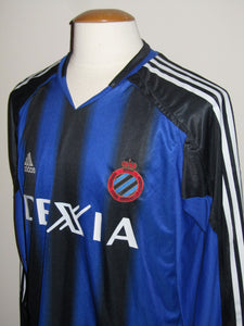 Club Brugge 2004-05 Home shirt MATCH WORN Uefa Cup #4 David Rozehnal