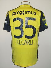 Load image into Gallery viewer, Club Brugge 2017-18 Third shirt MATCH WORN #35 Saulo Decarli