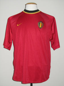 Rode Duivels 2000 EK home shirt