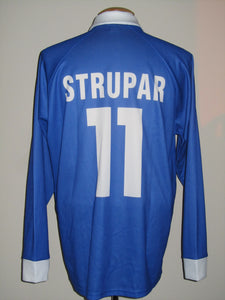 KRC Genk 1998-99 Home shirt MATCH ISSUE Uefa Cup II #11 Branko Strupar