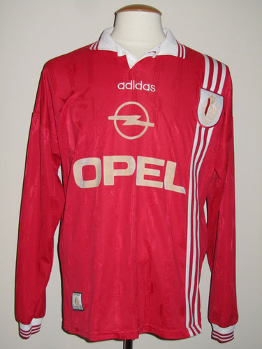 Standard Luik 1996-97 Home shirt MATCH ISSUE/Youth #7 Medium