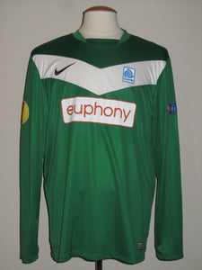 KRC Genk 2012-13 Away shirt MATCH ISSUE Europa League #14 Glynor Plet
