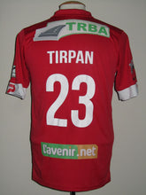 Load image into Gallery viewer, Royal Mouscron Peruwelz 2015-16 Home shirt MATCH WORN #23 Mickaël Tirpan