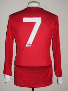 Standard Luik 1977-78 Home shirt MATCH WORN #7