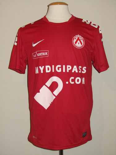 Kortrijk KV 2012-13 Home shirt MATCH WORN Romain Reynaud #29