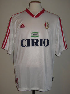 Standard Luik 1999-00 Away shirt MATCH WORN #9 Michaël Goossens