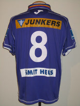 Load image into Gallery viewer, Germinal Beerschot 2010-11 Home shirt MATCH WORN #8 Sherjill MacDonald