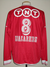 Load image into Gallery viewer, Standard Luik 2003-04 Home shirt MATCH ISSUE #8 Joseph Enakarhire
