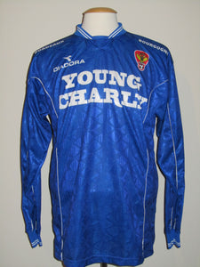 Germinal Ekeren 1998-99 Away shirt MATCH WORN #19