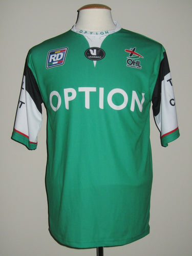 Oud-Heverlee Leuven 2013-14 Away shirt MATCH WORN #5 Kenny Thompson