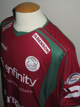 Load image into Gallery viewer, SV Zulte Waregem 2010-11 Home shirt MATCH WORN # 7 Habib Habibou