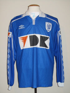 KAA Gent 1999-00 Home shirt match issued #7